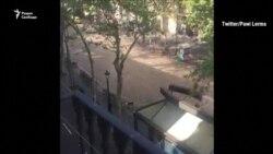 Минивэн врезался в толпу в Барселоне