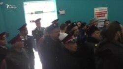 Казаки в штабе Навального в Краснодаре