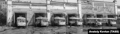 Проезд в троллейбусе стоил 4 копейки