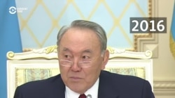'They Say That Men Invented Kissing...' -- Kazakh President's Women's Day Jokes