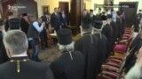Vučić na zasedanju Sabora SPC