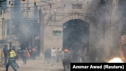 Столкновения в Иерусалиме, 10 мая 2021 года.