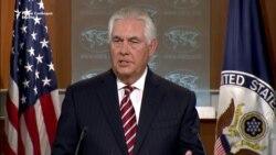 Тилерсон ја пофали воздржаноста на Северна Кореја