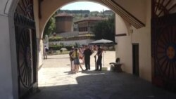 Вхід у двір Ханського палацу з липня став платним