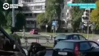 Стрельба в воздух и слезоточивый газ: протесты в Беларуси