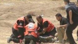 Ierusalimde ABŞ-nyň täze ilçihanasy açylýan mahaly, Gazada onlarça palestinaly öldürildi