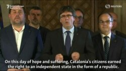 Catalan Leader Says Region Has Earned Right To Independence