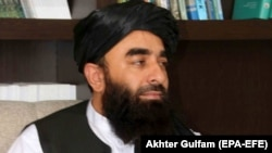 ذبیحالله مجاهد٬ سخنگوی طالبان