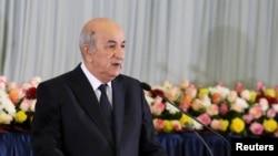 Абдельмаджид Теббун, президент Алжира.