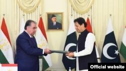 Церемония подписания документов, Исламабад, 2 июня 2021 года