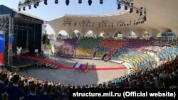 Ансамбль пісні і танцю Чорноморського флоту Росії взяв участь у відкритті нової зміни «Артека»