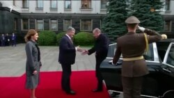 Президент Турции прибыл в Киев (видео)