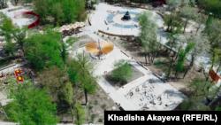 Центральный парк Семея 4 мая 2021 года