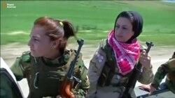 Женщины-бойцы иракских отрядов