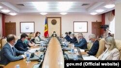Prima ședință a Guvernului în noua componență, prezidată de prim-ministra Natalia Gavrilița, 9 august 2021
