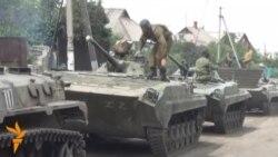 Продолжува повлекувањето оружје од источна Украина