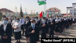 Мактаби навбунёд дар ноҳияи Спитамени вилояти Суғд