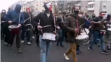 Belarus - 31-year old Alyaksey Sanchuk was sentenced to six years in prison for playing drums with a protest group - screen grab