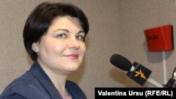 Natalia Gavrilița, fostă ministră a economiei, din nou candidată la funcția de premier (foto arhivă, februarie 2021).