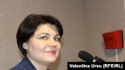 Moldova, Natalia Gavriliță, PM, 8 February 2021