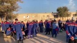 Жетібайдағы мұнайшылар ереуілге шықты
