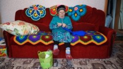 Tatar Grandmothers Get Together To Sew Socks And Lift Spirits