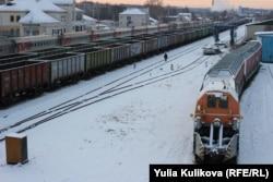 Железнодорожная станция города Емва сегодня, Коми