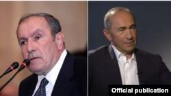 Бывшие президенты Армении Левон Тер-Петросян и Роберт Кочарян