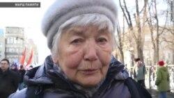 Марш памяці Барыса Нямцова ў Маскве