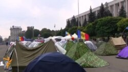 Moldovan Protesters Set Up New Tent City In Chisinau