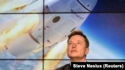 A SpaceX-et alapító milliárdos, Elon Musk.