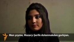 Türkmen gyzy Latifa haýbat atyldy (türkmençe)