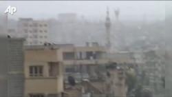 Qyteti Hama - të shtëna e granatime...