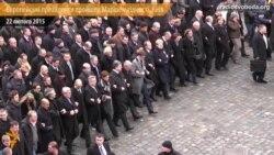 Європейські президенти пройшли Маршем гідності по Києву
