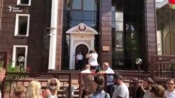 Черга під посольством Білорусі у Києві