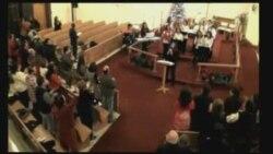 جشن کریسمس در کلیسای پارسیان