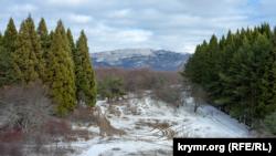 Пешие туристы и вездесущие мотогонщики: когда Ангарский перевал засыпает снегом (фотогалерея)