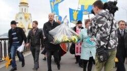 Свободівці вшанували загиблих під час форсування Дніпра
