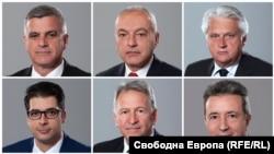 Членовите на привремената Влада на Бугарија.