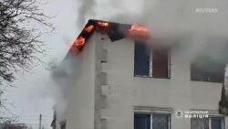 Наслідки пожежі в будинку для літніх людей у Харкові (відео)