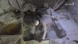 د پاکستان په سرښار کې لا هم د اوبو ژرنده غنم اوړه کوي.