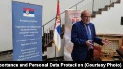 Milan Marinović, Poverenik za informacije od javnog značaja i zaštitu podataka o ličnosti