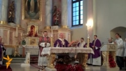 Вітаньні Папу Францішку зь Беларусі