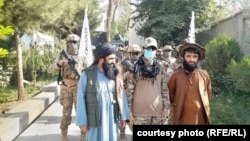 Taliban fighters in Badakhshan. The militants have been stepping up raids in the province near the Tajik border in an attempt to capture Afghans trying to flee the country.