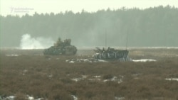 U.S. Tanks Join Military Drills In Poland