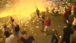 Поліція в Єревані розігнала демонстрантів перед будівлею поліції (відео)