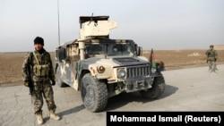 Ауғанстан ұлттық армиясының сарбаздары Кабул маңында. 18 қараша, 2020 жыл.
