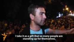 Young Activist Rises To Forefront Of Yerevan Protests