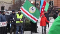 Нохчийн протест. Осло (Норвеги). 02.01.2016