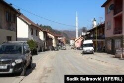 Ulica Reufa Selmanagića Crnog u Srebrenici, koja se od 1996. do 2000. zvala ulica Grčkog prijateljstva.